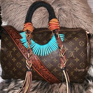 Authentic Louis Vuitton Speedy 35 Monogram Tote